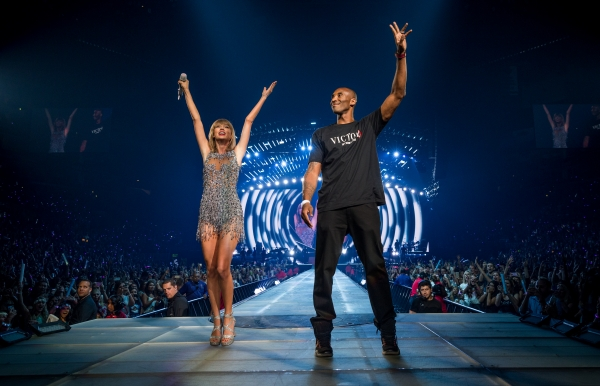 Kobe Bryant wished Taylor Swift for the artist with the 'most sold out shows' in music.