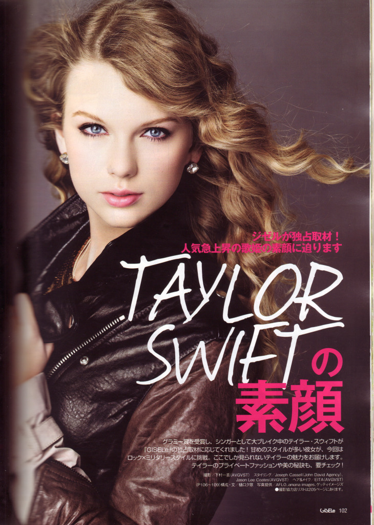 """""""Taylor's naturally polished and beautiful look fits perfectly with the new"""